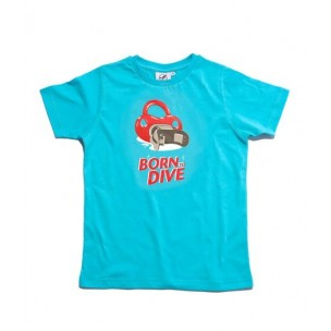 Tee shirt enfant Born To Dive